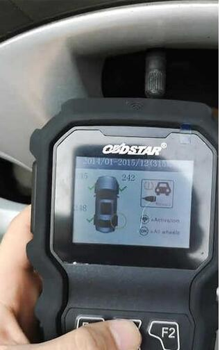 OBDSTAR TP50-Test-on-Buick-Regal-2014-16