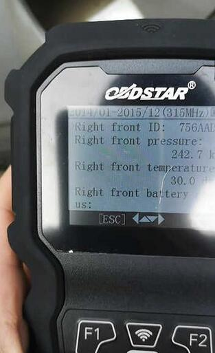 OBDSTAR TP50-Test-on-Buick-Regal-2014-18
