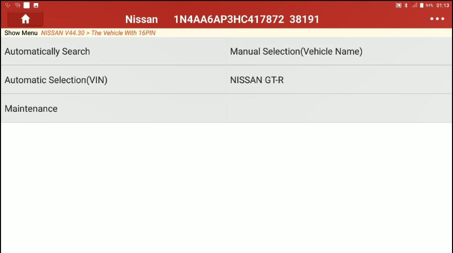Decel-G-Sensor-Calibration-for-Nissan-Maxima-2017-by-Launch-X431-1