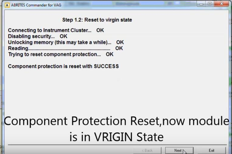How-to-Reset-Component-Protection-Instrument-Cluster-via-ABRITES-on-Audi-A4-2010-6